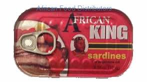 African King Sardine - 50  /  Case 5 up