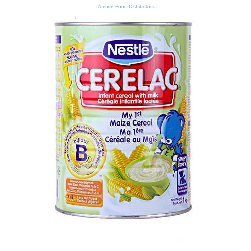 Cerelac Maize With Milk 6  /  1kg 10cases up