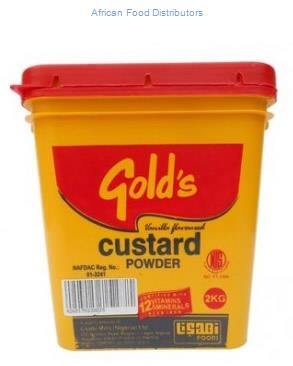 Gold's Custard Powder 12 X 500g