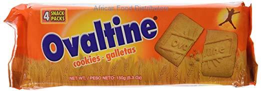 Ovaltine Cookies - 24pcs  /  Case