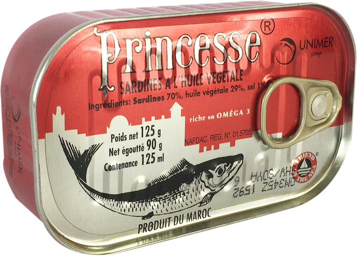 Princess Sardine Reg - 50  /  case