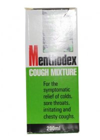 Menthodex Cough Mixture 12  /  100ml
