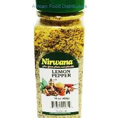 Nirwana Lemon Pepper   12  /  16 oz.