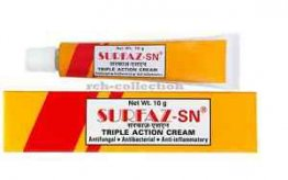 Surfaz-sn Triple Action Cream - 10pcs  /  pk