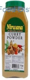 Nirwana Curry Powder 12  /  6 oz.