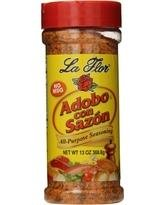 La Flor Adobo con Sazon 12  /  12oz