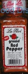 La Flor  Ground RED Pepper 12  /  1.5oz