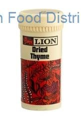 Lion Dried Thyme 12  /  25g pack
