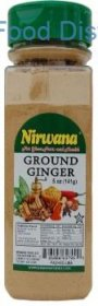 Nirwana Ground Ginger  12  /  5 oz.