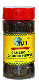 JKUB Cameroon Ground Hot Pepper 15  /  4oz
