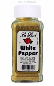 La Flor  White Pepper 12  /  2.5oz
