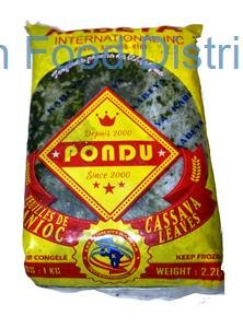 Kabeya Cassava Leaves 20  /  1kg 10 case